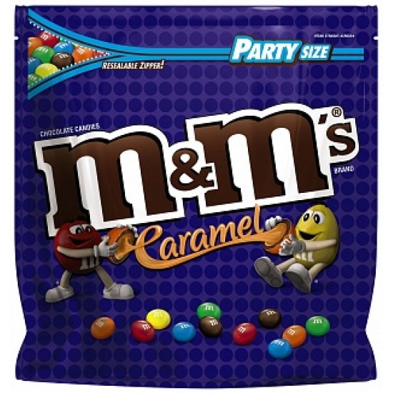 M&M CARAMEL PARTY SIZE