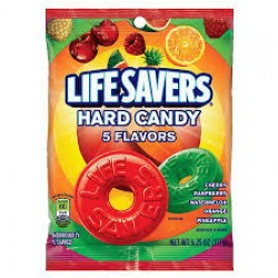 LIFESAVERS 5 FLAVOURS HARD CANDY