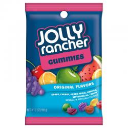 JOLLY RANCHER GUMMIES PEG BAG