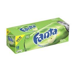 FANTA GREEN APPLE FRIDGE PACK (12 cans)