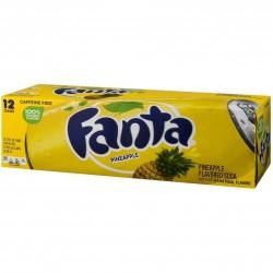FANTA PINEAPPLE FRIDGE PACK (12 cans)