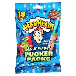 WARHEADS SOUR DIPPIN PUCKER PACKS