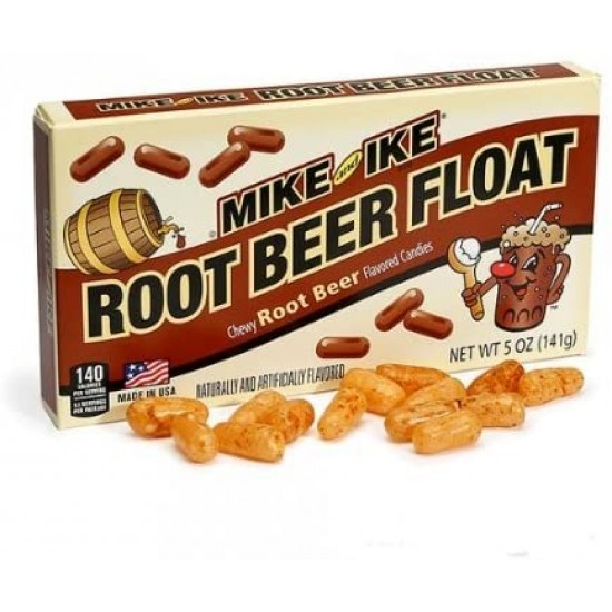 MIKE AND IKE ROOT BEER FLOAT