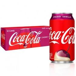 COCA COLA CHERRY VANILLA FRIDGE PACK (12 CANS)