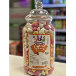 KINGSWAY SUGARED ALMONDS - RETRO SWEETS 200G