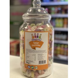 KINGSWAY SOUR DUMMIES - RETRO SWEETS 200G