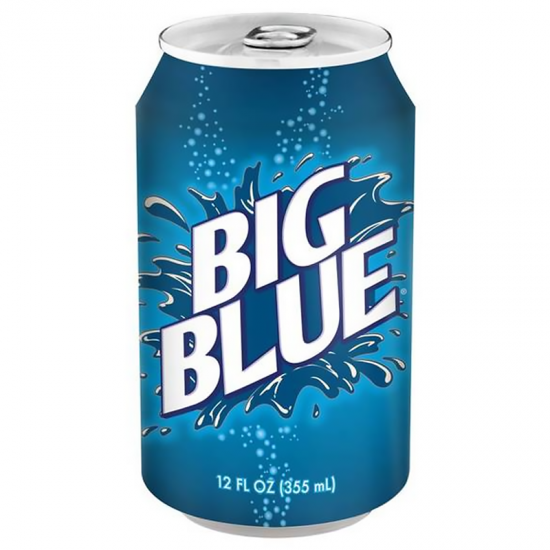 BIG RED BLUE CAN