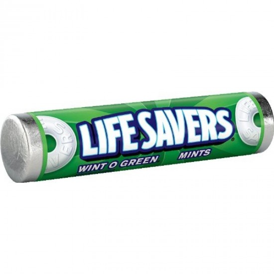 LIFE SAVERS WINT O GREEN ROLL