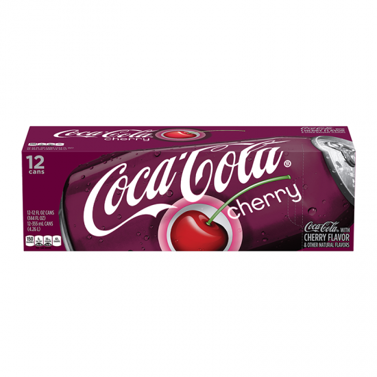 COCA COLA CHERRY FRIDGE PACK (12 CANS)