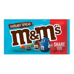 M&M HAZELNUT SPREAD SHARE SIZE