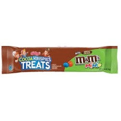 RICE KRISPIES TREATS COCOA KRISPIES WITH M&M MINI