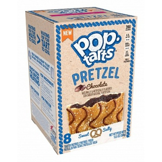 KELLOGGS POP TARTS PRETZEL CHOCOLATE