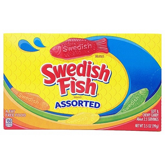 SWEDISH FISH ASSORTED - THEATRE BOX