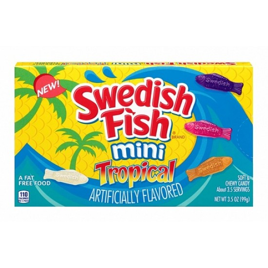 SWEDISH FISH TROPICAL - THEATRE BOX