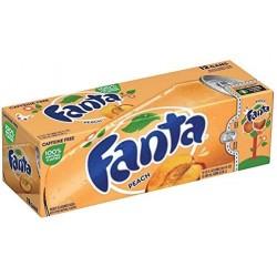 FANTA PEACH FRIDGE PACK (12 CANS)