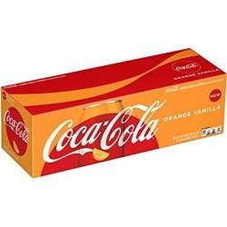 COCA COLA ORANGE VANILLA FRIDGE PACK (12 CANS)