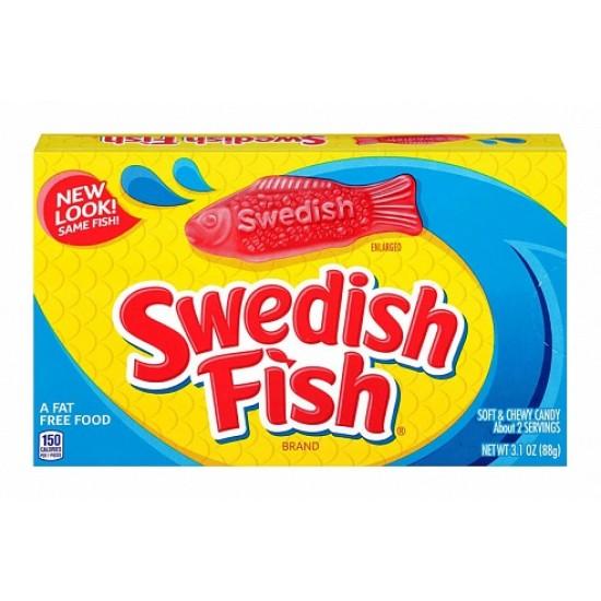 SWEDISH FISH ORIGINAL RED - THEATRE BOX
