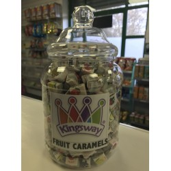 KINGSWAY FRUIT CARAMELS - RETRO SWEETS 200G