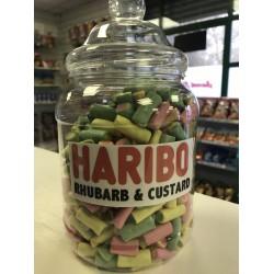 HARIBO RHUBARB AND CUSTARD - RETRO SWEETS 200G