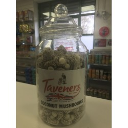 TAVENERS COCONUT MUSHROOMS - RETRO SWEETS 200G