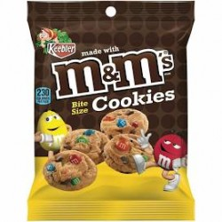 M&M Cookie Bag Bites