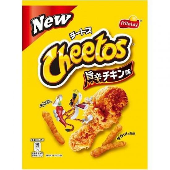 JAPANESE CHEETOS SPICY HOT CHICKEN