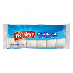 MRS FRESHLEYS WHITE POWDERED DONUTS