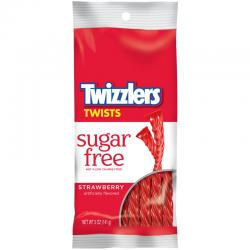TWIZZLERS STRAWBERRY SUGAR FREE