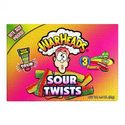 Warheads Sour Twists Theatre Box