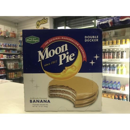 MOON PIE BANANA FULL BOX 12 CAKES