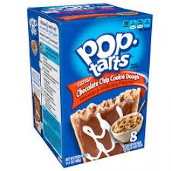 KELLOGS POP TARTS CHOC CHIP COOKIE DOUGH