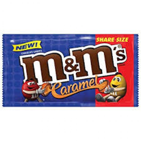 M&M Caramel Share Size