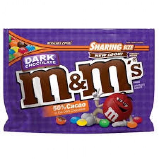 M&M DARK CHOCOLATE SHARING SIZE