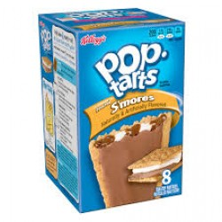 Kelloggs Pop Tarts Frosted S'mores toaster pastries