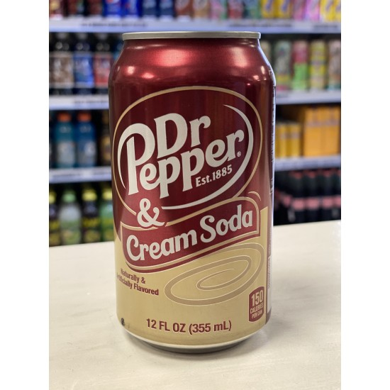 DR PEPPER AND CREAM SODA