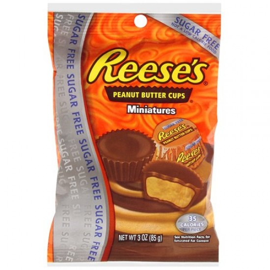 Reeses Peanut Butter Cups Miniatures Sugar Free
