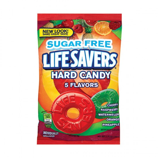 Lifesavers 5 Flavours Sugar Free Candy