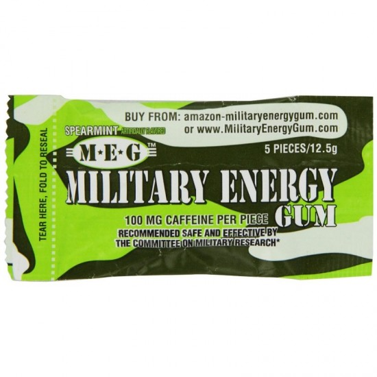 Military Energy Gum Spearmint
