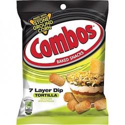 Combos 7 layer dip - tortilla