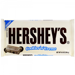 Hersheys Giant Cookies n Creme Chocolate Bar