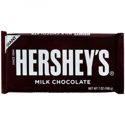 Hersheys Giant Milk Chocolate Bar