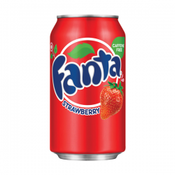 Fanta Strawberry Soda Pop