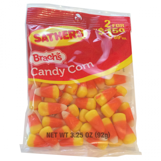 Sathers Candy Corn Bags