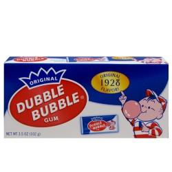 Dubble Bubble retro bubble gum theater box