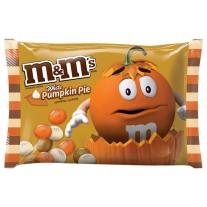 M&M White Pumpkin Pie