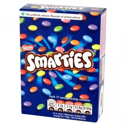 smarties carton