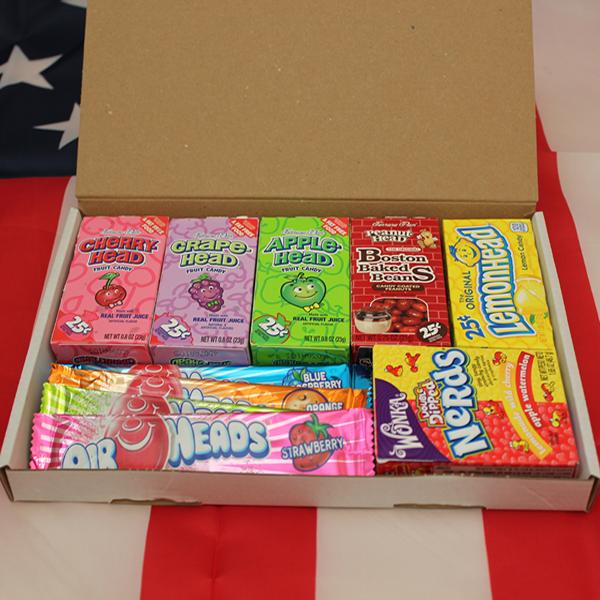 Chocolate Gift Boxes Usa : Five pound usa candy gift box
