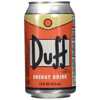 Duff Simpsons Energy Drink