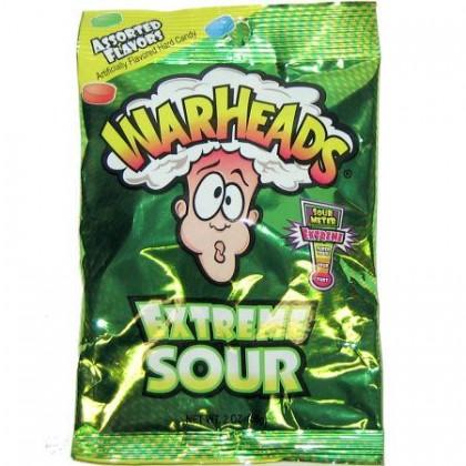 Warheads Extreme Sour Large 2oz Bag
