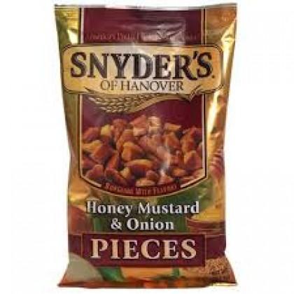 Snyders Honey Mustard And Onion Pretzel Pieces